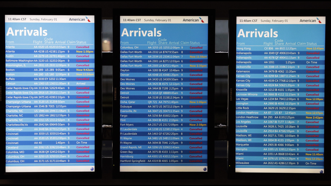 Website ranks the most delayed airports   FOX23