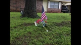 Flowers placed at Claremore fire station_7328112