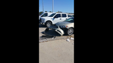 PHOTO_ Animal damages new cars in Vinita lot_8152023