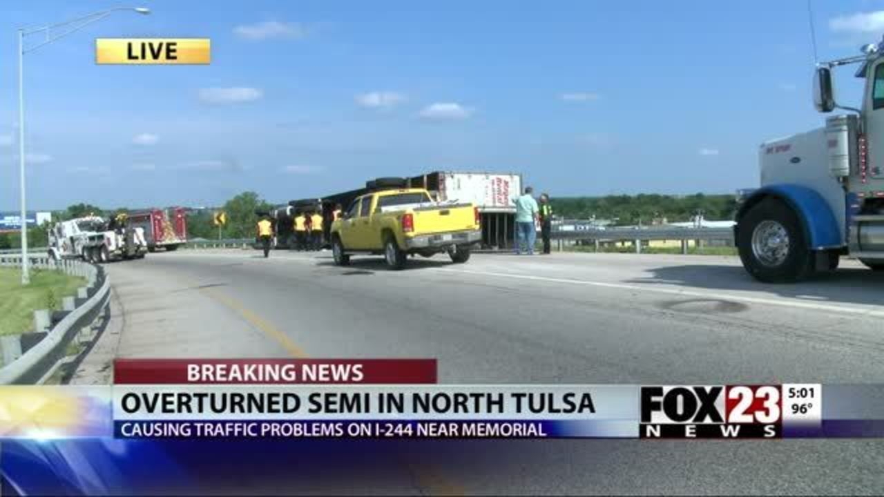 VIDEO: Accident slows traffic on Highway 11 | FOX23