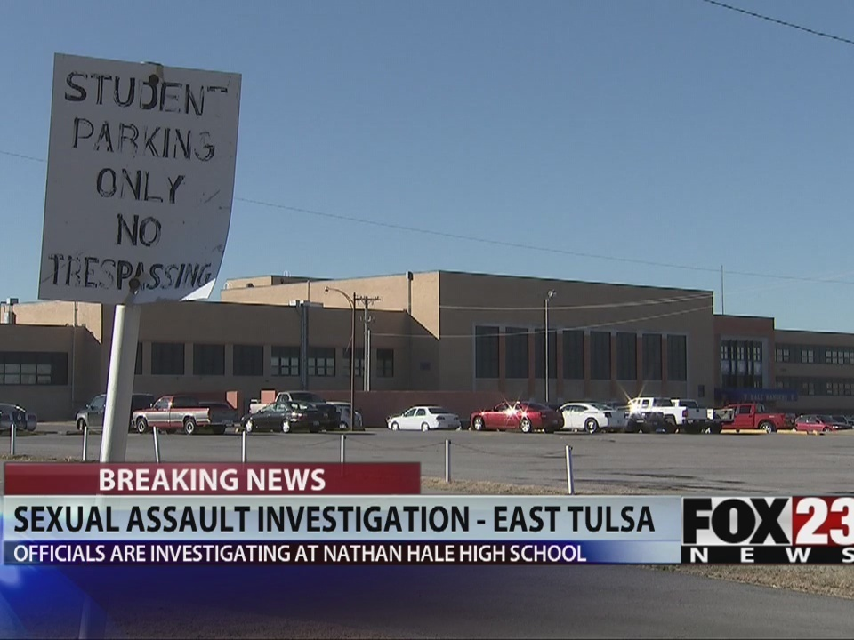 Tulsa police investigate alleged sexual assault at Nathan Hale High School  | FOX23