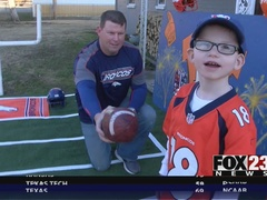 Young Broncos fan fights to overcome health issues