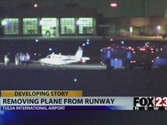 Two runways closed at Tulsa International Airport after emergency landing