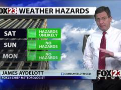 Severe weather moves through Green Country