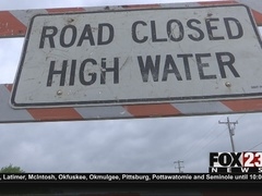 McAlester floods during Pittsburg Co. thunderstorms