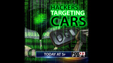 Thieves hacking to steal cars