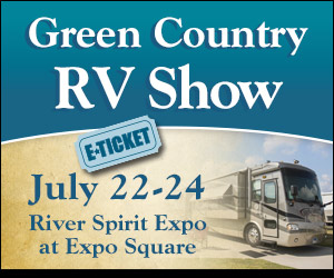 Win 4 tickets to the Green Country RV Show!