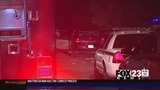 Woman found shot in the street after attempted robbery