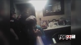 VIDEO: Musokgee police release video of officer using pepper spray on 84-year-old woman