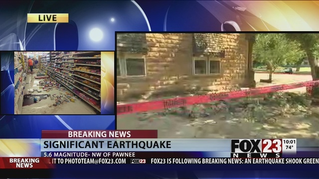 Pawnee Nation declares state of emergency after earthquake   FOX23