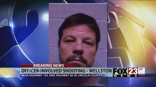 Police: 2 Oklahoma officers shot with AK-47; suspect