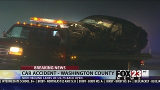 5 taken to hospital after Washington County crash