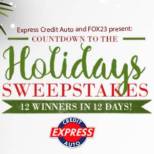 Countdown to the Holidays Sweepstakes – Enter to Win