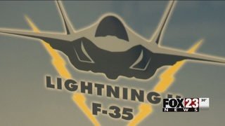 Tulsa passed over in search for F-35 home
