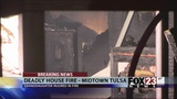 Woman killed in midtown Tulsa house fire
