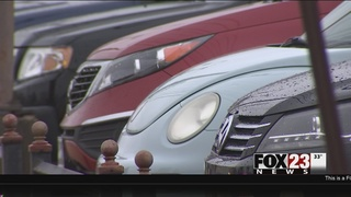 Several cars stolen from Tulsa auto lot overnight