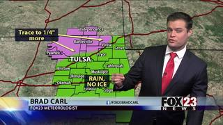 Additional ice possible for northern Green Country