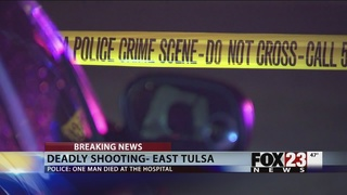 One killed in shooting at east Tulsa park