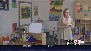 Pre-K teacher takes home Golden Apple after mere months in the classroom