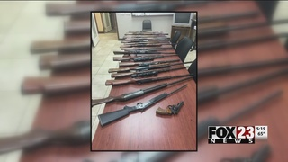 Collinsville Police make big stolen gun bust
