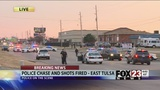 Police: Officer shot suspect in east Tulsa chase