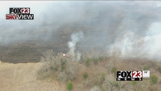 Coweta homes spared from flames after residents evacuated