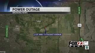 PSO: Power restored in east Tulsa after crash impacted over 1,600 customers