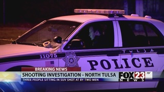 Tulsa police investigate shooting at Lacy Park