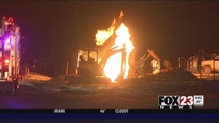 Gas explosion injures 4 in Wagoner County