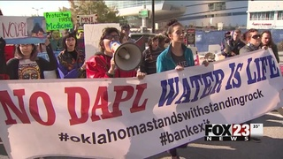 Tulsa group calls on more tribes to join Dakota Access Pipeline protests