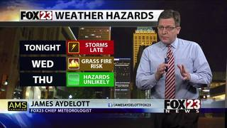 Tornado Watch issued for much of Green Country until 4 a.m. Wednesday