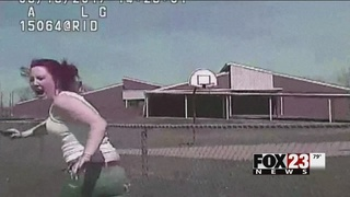 Tulsa police release video of Madison Dickson confrontation