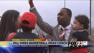 OSU hires Boynton as hoops coach
