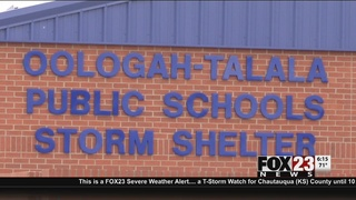 Oologah school storm shelters ready for severe weather season