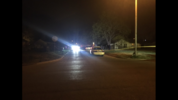 Police say one man was shot inside a house near Virgin and Lewis.