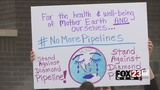 Tulsa protesters march against Diamond Pipeline plans
