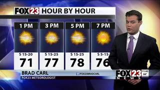 Dry for now but storm chances return soon