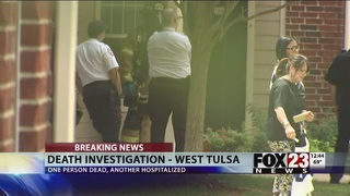 One found dead, another taken to the hospital at Tulsa apartment
