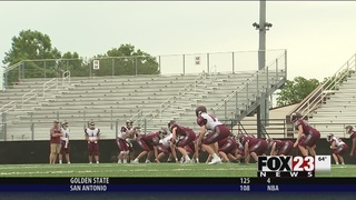 Trimble, Jenks hold spring football game