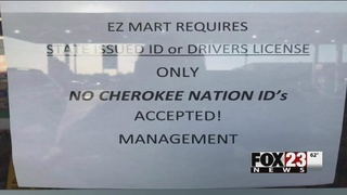 Tahlequah convenience store accused of refusing to accept Cherokee…
