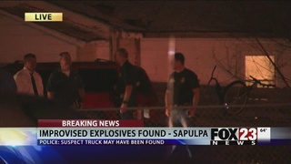 Explosive devices found in vehicle outside Creek County Courthouse