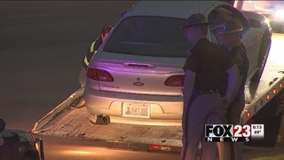 Man arrested after 10 mile chase starting in Coweta