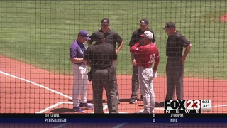 TCU defeats Oklahoma 9-4 in Big 12 elimination game