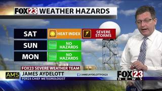 Storms expected Saturday in Green Country
