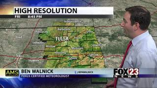 Cold front will bring storm chances and cooler air to Green Country