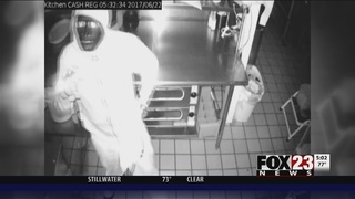 Face-painted burglar hits Owasso restaurant