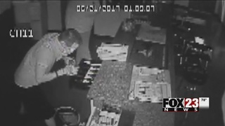 Surveillance video shows suspected thieves in Catoosa business