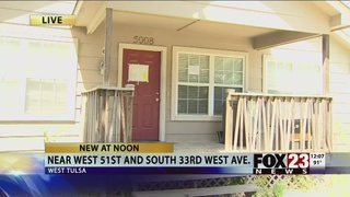 Squatters reportedly take over west Tulsa home