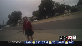 Muskogee police releases body camera footage from officer involved shooting