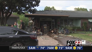 Two injured in midtown Tulsa house fire
